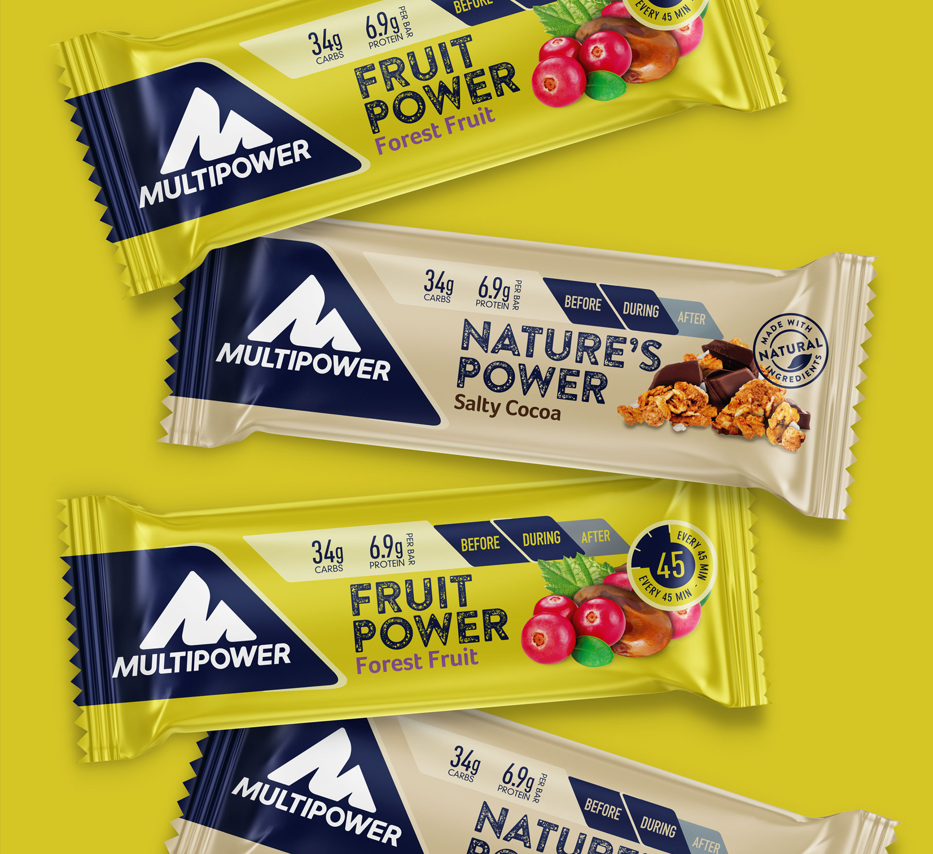 Multipower Energy Bars