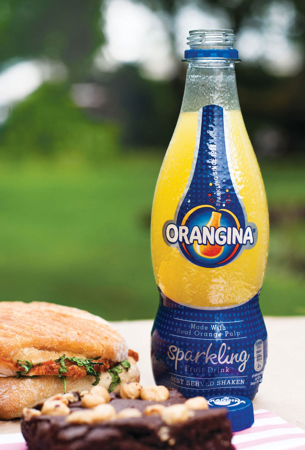 Orangina Plastic Bottle Design
