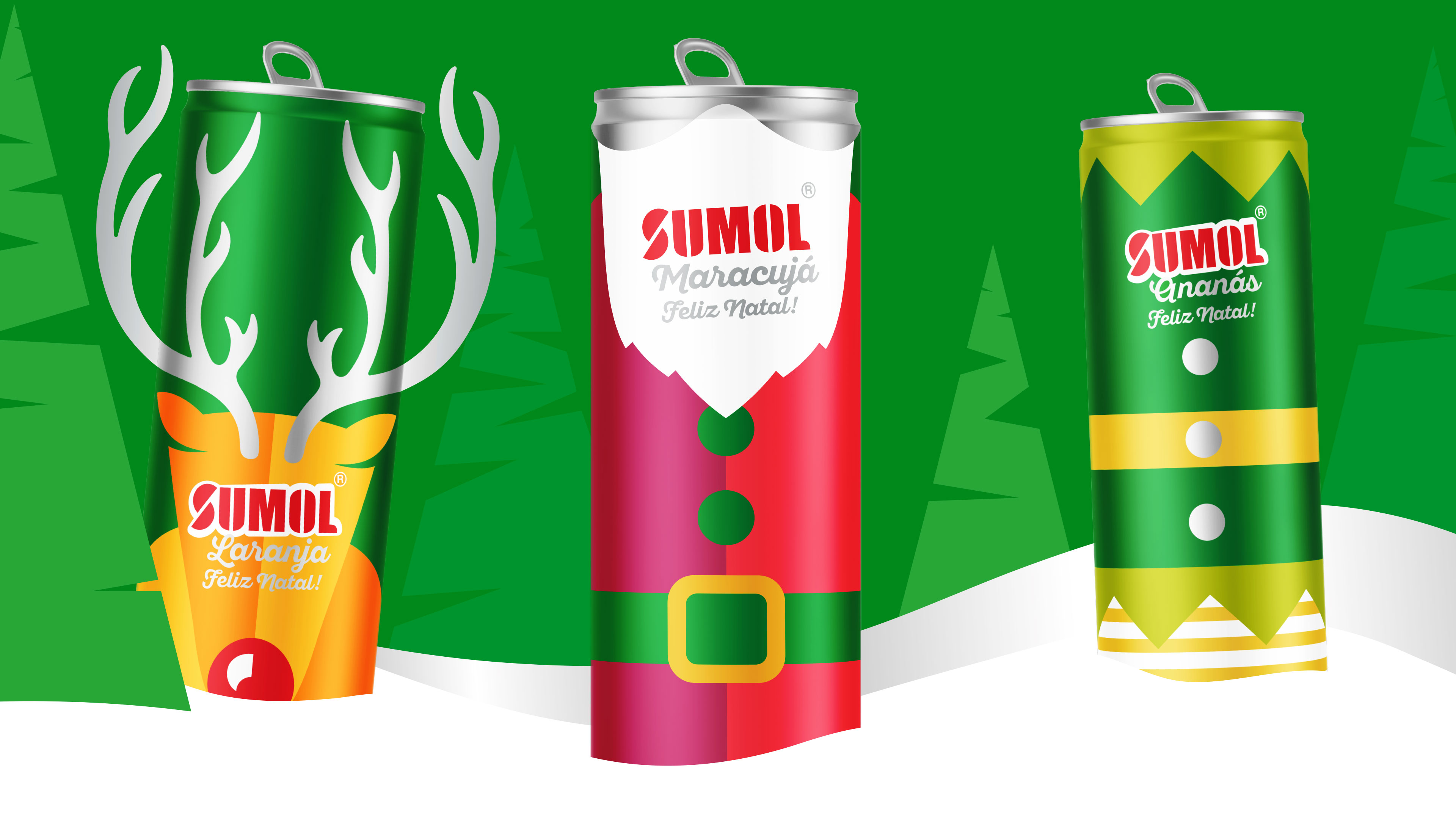 Sumol Dressed Up For Christmas - BrandMe